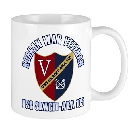 Korea Vet USS Skagit Mug