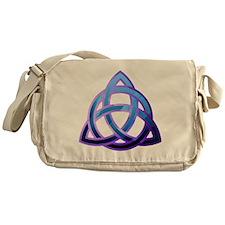 Cute Celtic trinity knot Messenger Bag