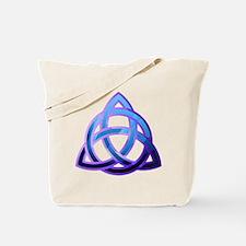 Unique Catholic celtic knot Tote Bag