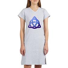 Cute Trinity knot Women's Nightshirt