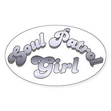 Soul Patrol Girl Oval Decal