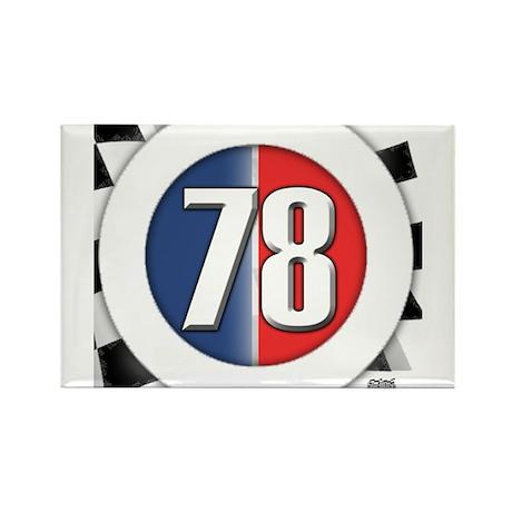 78 Cars Logo Rectangle Magnet (100 pack)