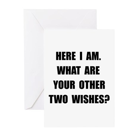 Here I Am Greeting Cards (Pk of 20)