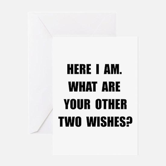 Here I Am Greeting Card