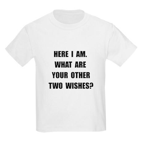 Here I Am Kids Light T-Shirt
