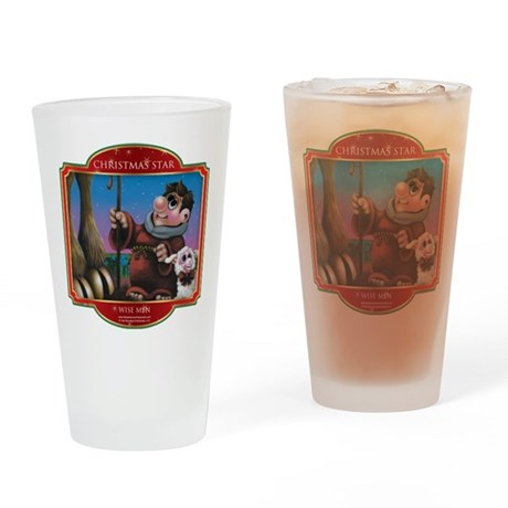 Wise Men - Christmas Star Drinking Glass