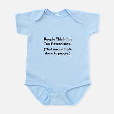 Patronizing Infant Bodysuit