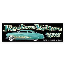 Kustom Kulture - Lead Sled Bumper Sticker