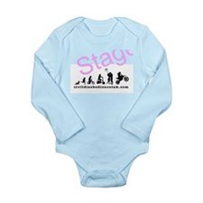 A Girls Life Long Sleeve Infant Bodysuit