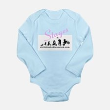 A Girls Life Long Sleeve Infant Bodysuit