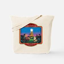 Believe - Christmas Star Tote Bag