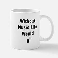 Music B Flat Mug
