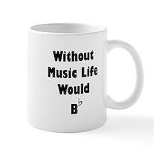 Music B Flat Small Mugs