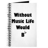 Music b Journals & Spiral Notebooks