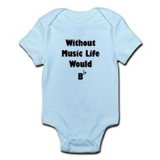Music B Flat Infant Bodysuit