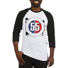 55 Cars Logo Baseball Jersey