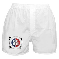 55 Cars Logo Boxer Shorts