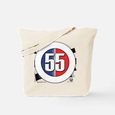 55 Cars Logo Tote Bag