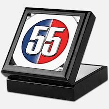 55 Cars Logo Keepsake Box