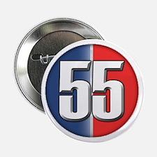 """55 Cars Logo 2.25"""" Button"""