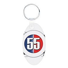 55 Cars Logo Keychains