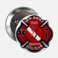 New Jersey Rescue Diver Button