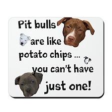 Pit Buls Mousepad