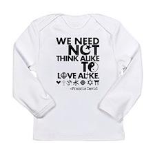 Unique Religion and beliefs Long Sleeve Infant T-Shirt