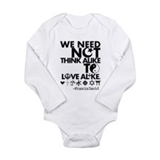 Cute Religion and beliefs Long Sleeve Infant Bodysuit