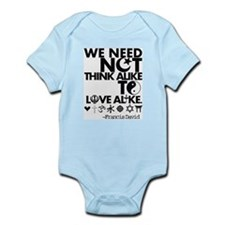 Funny Unity Infant Bodysuit