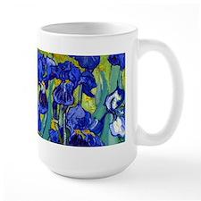 Van Gogh - Irises 1889 Ceramic Mugs