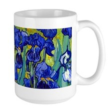 Van Gogh - Irises 1889 Coffee Mug