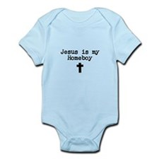 Jesus is my Homeboy Onesie