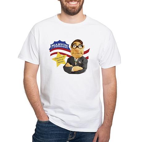 Marvin Quasniki White T-Shirt