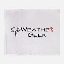 Weather Geek Throw Blanket