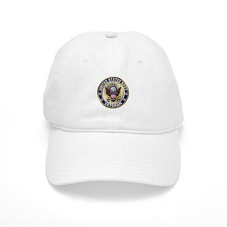 USN Blue and Gold Veteran Cap