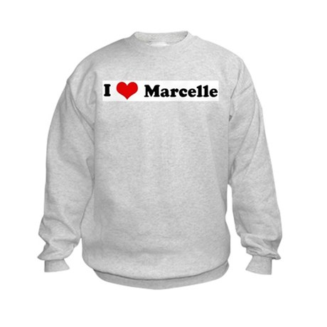 I Love Marcelle Kids Sweatshirt