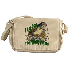Dad Bass legend Messenger Bag