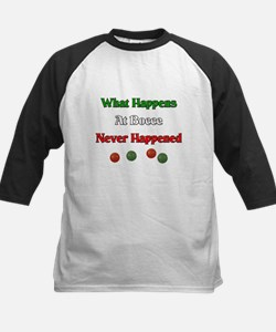 What happens at bocce never happened Tee