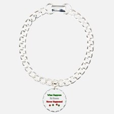 What happens at bocce never happened Bracelet
