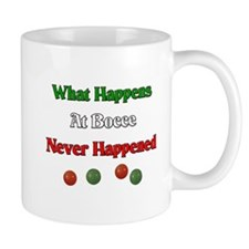What happens at bocce never happened Mug