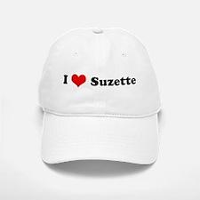 I Love Suzette Baseball Baseball Cap
