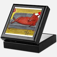 Arkansas Razorback Christmas Keepsake Box