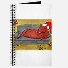 Arkansas Razorback Christmas Journal