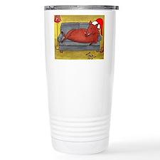 Arkansas Razorback Christmas Travel Mug