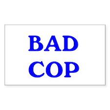 bad cop Decal