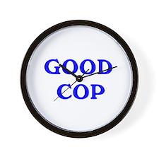 good cop Wall Clock