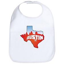Austin Texas Skyline Bib