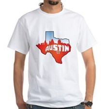 Austin Texas Skyline Shirt