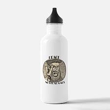PEACE NOSTRADAMUS (2) Water Bottle